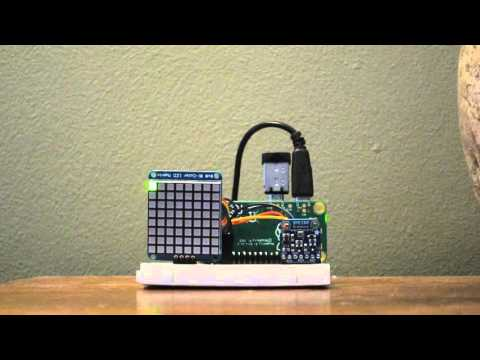 Raspberry Pi Desktop Weather Station Youtube
