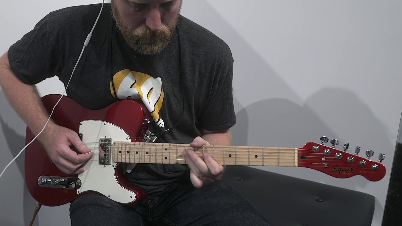 Squier Contemporary Telecaster Namm 2018 Youtube Mij Bass Questions Fenderr Squierr Guitar And Forum