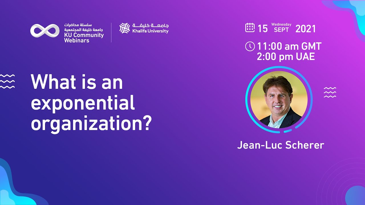 What is an exponential organization? by Jean-Luc Scherer