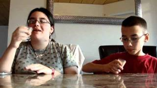 Brother and Sister Hilarious Cinnamon Challenge FAIL