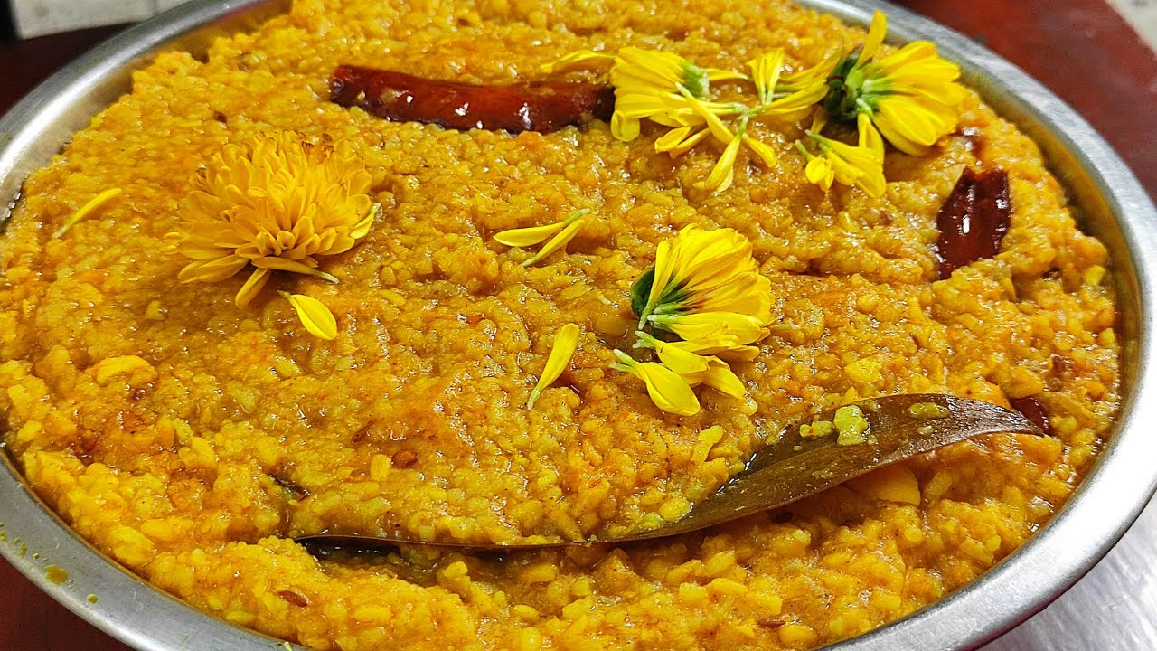 Bhoger Khichuri  একপাকে ভোগের খিচুড়ি  Bengali Niramish Bhoger Khichuri Recipe  Niramish Khichuri