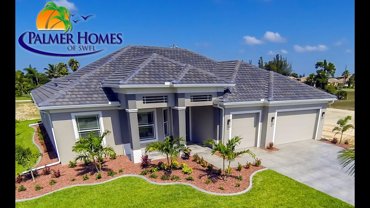 The cabana by cape coral custom home builder palmer homes for Palmers homes