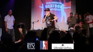 Alem Showcase / American Beatbox Championships 2015
