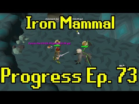 Oldschool Runescape - 2007 Iron Man Progress Ep. 73 | Iron Mammal