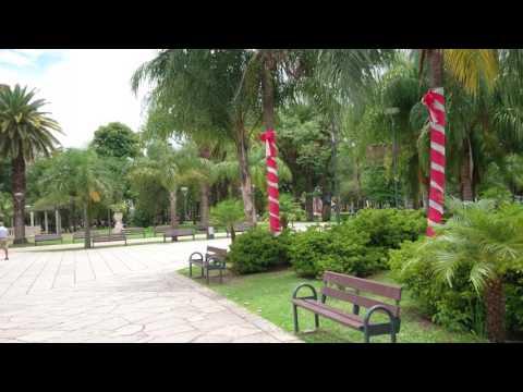 Central Square, Resistencia City (Argentina). 4K video Sony Z5 Premium