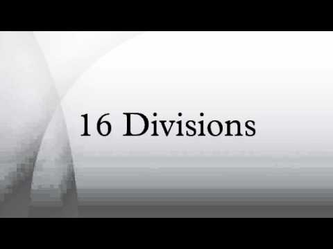 Csi masterformat 2004 division list