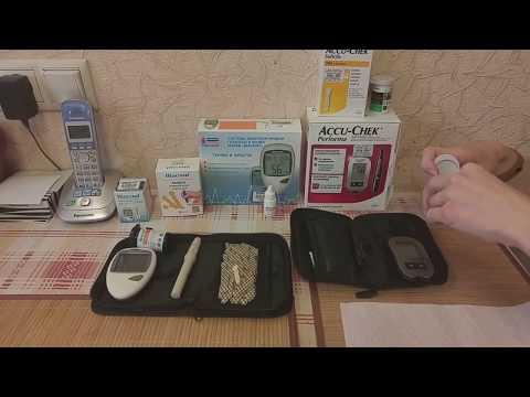 Как выбрать глюкометр? Сравнение моделей глюкометров Accu-Chek и Diacont | глюкометров | измерение | глюкометр | сателлит | диаконт | сахар | актив | тест | акку | diacont