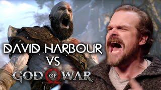 David Harbour vs. God of War