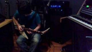 Mayzan plays River Of Longing (Jason Becker cover - Marty Friedman part)