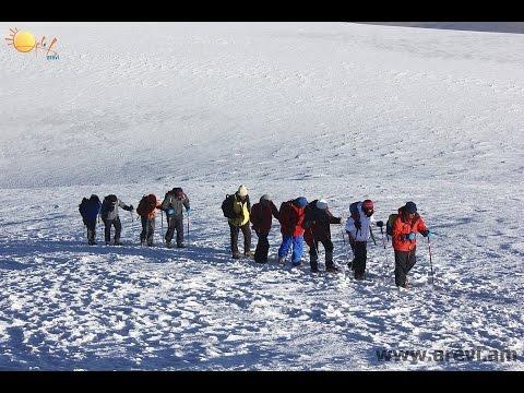 Climbing Mt Ararat with Arevi 2014