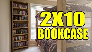 2X10 Stopped Dado Bookcases - 209