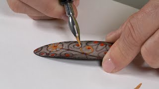 Cool Tools | Pen Techniques with Mica by Jan Harrell