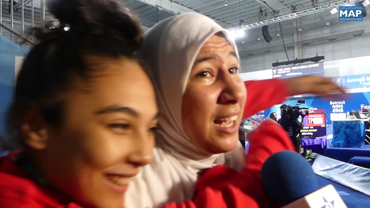 فاطمة الزهراء أبو فارس تهدي المغرب أول ميدالية ذهبية في تاريخ مشاركته في الألعاب الأولمبية للشباب