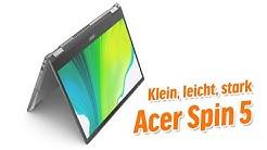 Klein, leicht, stark - Acer Spin 5 Convertible - Deutsch / German