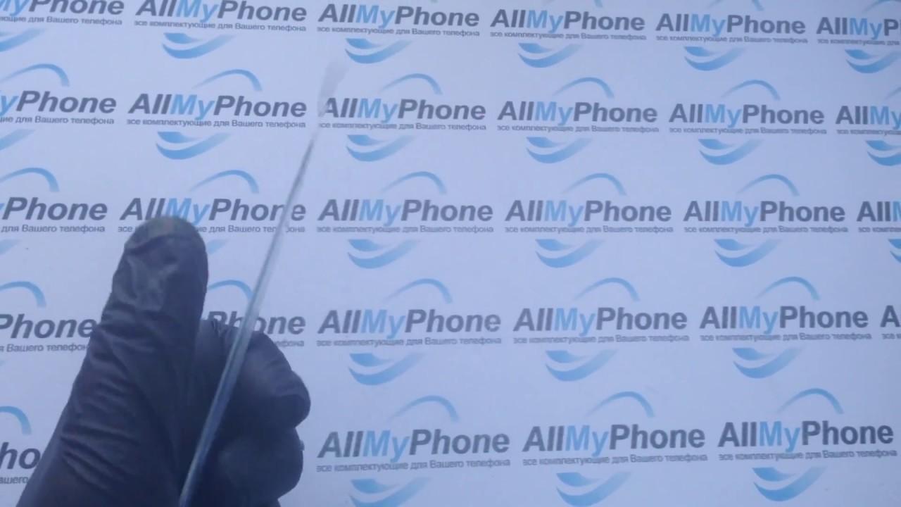 Сенсорный экран для мобильного телефона Fly IQ442 white - YouTube