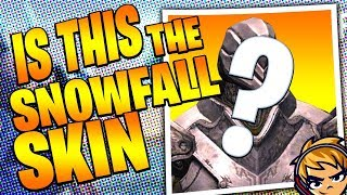 Fortnite Snowfall Skin - Is This It