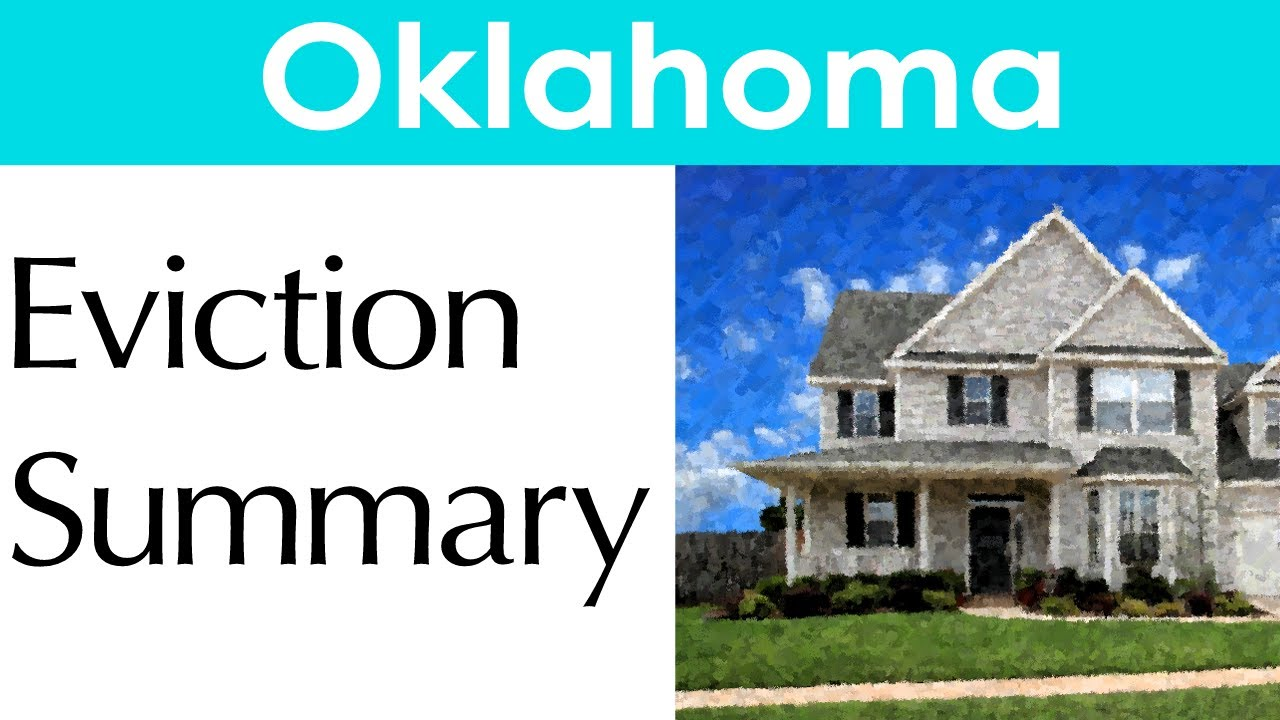 Eviction Process In Oklahoma - Foreclosure | Laws.com