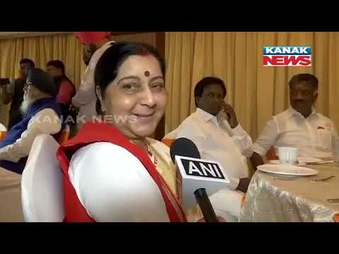 People Of Varanasi So Lucky To Have PM Modi: Sushma Swaraj