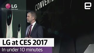 LG at CES 2017 in under 10 minutes