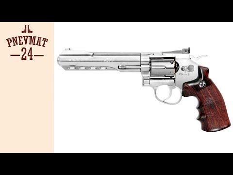 Страйкбольный револьвер G&G G733 SV (6, Silver) (CO2-733-PST-SNB-NCM)