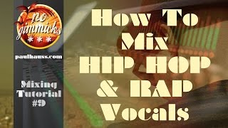 MIXING HIP HOP/RAP VOCALS: Creating a bridge as a transition to the Hook (Chorus)