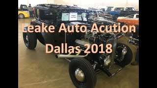 We attend the Leake Specalty Auto Auction in Dallas!!