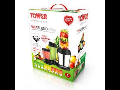Vita Blend 21 Piece Multi Blender and Nutrient Extraction System   Tower 1