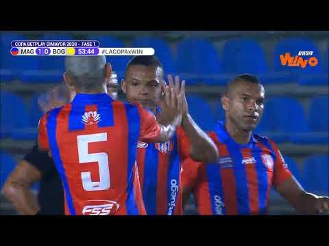 Unión Magdalena vs. Bogotá (3-0)   Copa Betplay Dimayor 2020-I Primera Fase-Ida