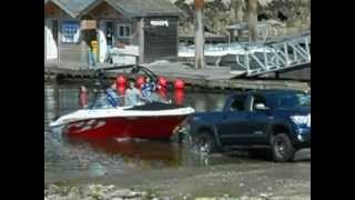 boat launch fail. Very Funny, you have to watch