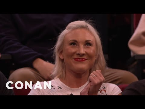 Audience Member Theme Songs: Almost Gwen Stefani Edition  - CONAN on TBS