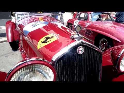 1000 Mille MIGLIA - Ferrari Porsche Mercedes Jaguar Alfa Romeo Bentley