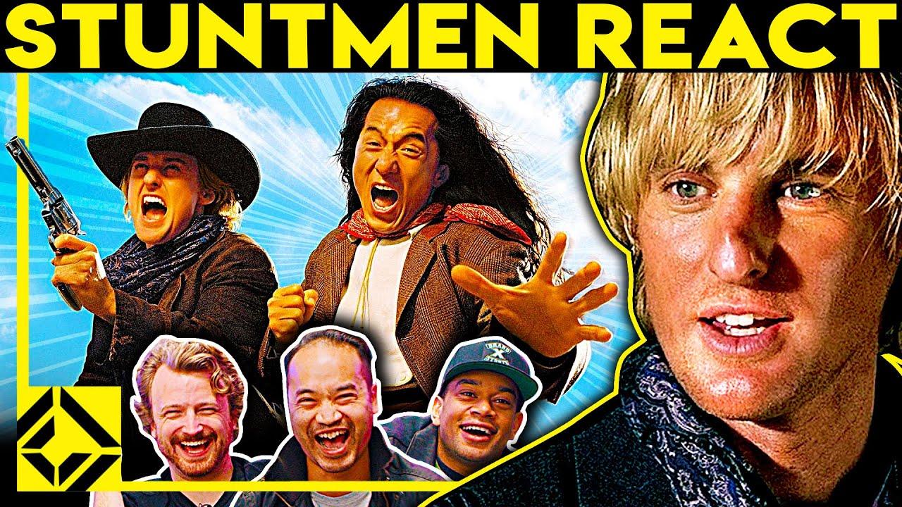 Stuntmen React To Bad & Great Hollywood Stunts 25