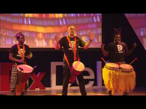 Creating synergy through sound | Drum Cafe | TEDxDelft