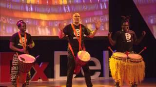 Creating synergy through sound | Drum Cafe | TEDxDelft