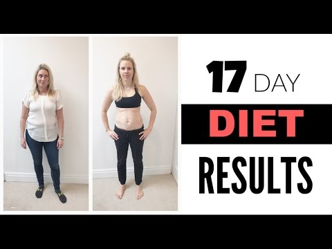 17 Day Diet Results | Cat & Nat Vlog 32