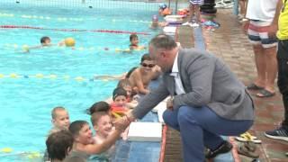 Vizită la Şcoala Sportivă Specializată nr.4 de polo pe apă
