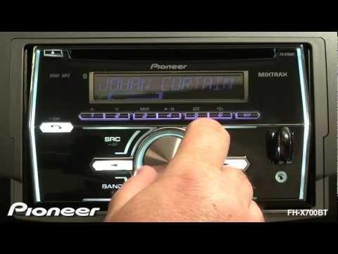 Pioneer FHX700BT DoubleDin Bluetooth Car Stereo w Pandora
