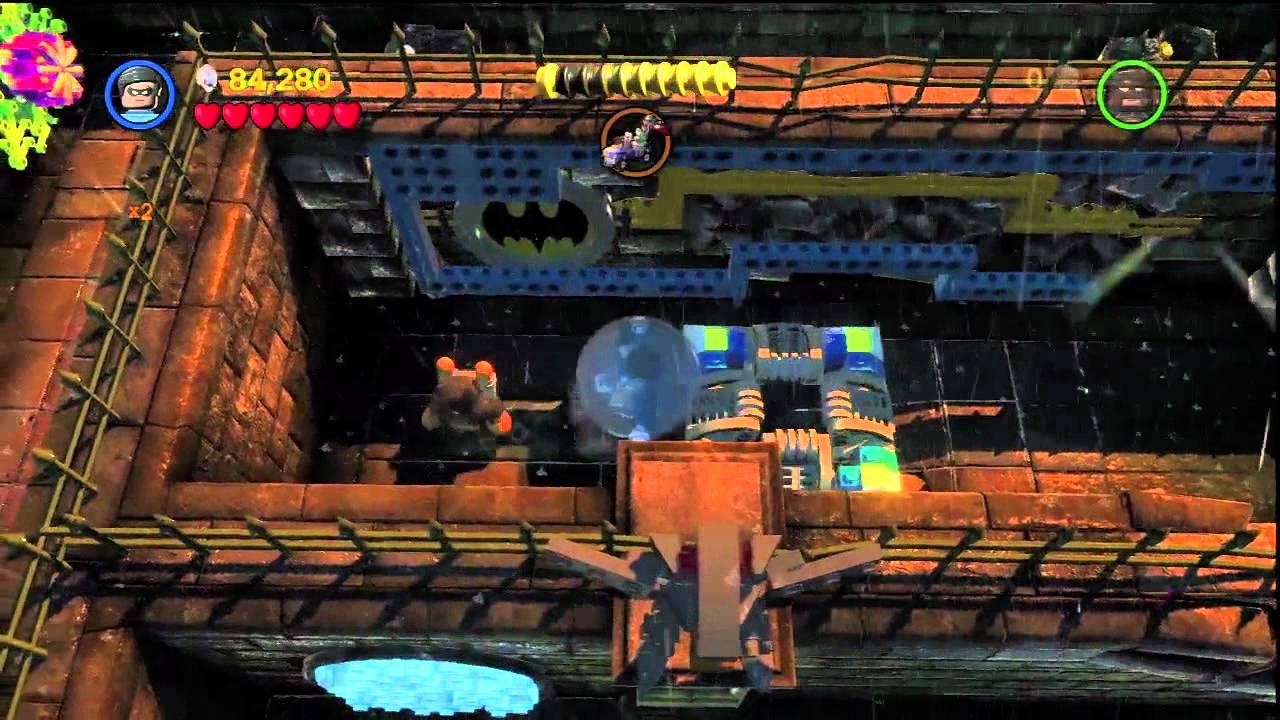 LEGO Batman 2 - Story Level 3 Walkthrough - YouTube