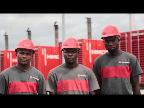 Angola Power Plant. HIMOINSA.