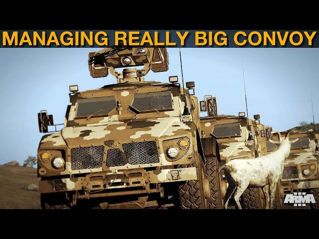Specter Campaign: DAY 18 I Got A Great  Big Convoy! | Arma 3