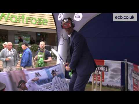 Michael Vaughan faces James Anderson  Yorkshire Tea and Oculus Rift