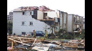Tornade de Gatineau,, Dégâts de Dunrobin, tornade à Ottawa, Canada tornado