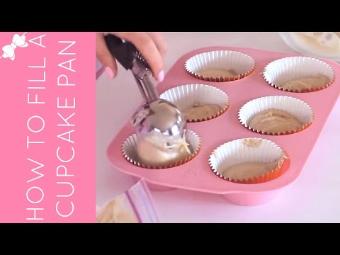 How To Fill A Cupcake Pan With Batter (4 Ways) | Cupcakes 101 Video: Quick, Easy Tips & Tricks