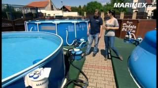 Příprava bazénu na koupací sezonu