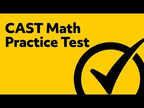 CAST Exam - CAST Math Practice Test