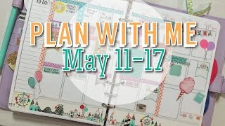 Plan With Me: Week May 11-17th Diy Erin Condren Planner Inserts