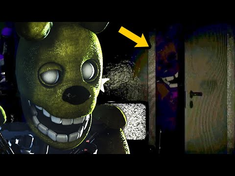 DO NOT OPEN THE DOOR.. FREDBEAR AND FRIENDS ARE HUNTING ME | FNAF Distorted Mind The Other Fredbears