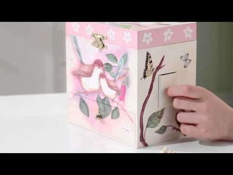 Sweet Fairy Wrens Musical Treasure Box by Enchantmints, from Reeves International