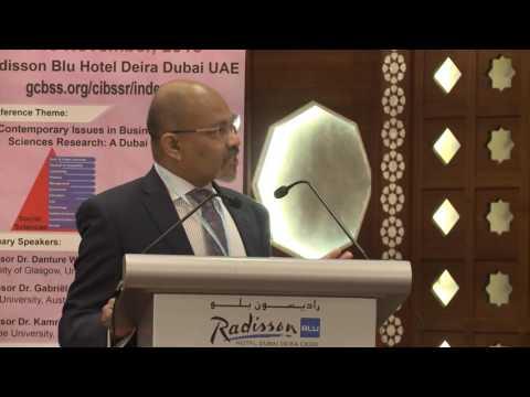 4th GCBSS Conference, Dubai, UAE: Plenary Speech-2
