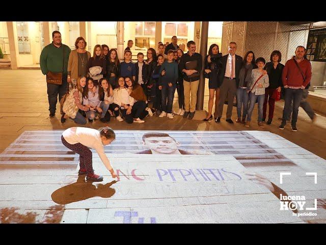 VÍDEO: Presentación del vídeo 'No más', contra la Violencia de Género, realizado por alumnos del IES Juan de Aréjula